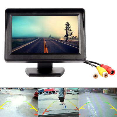 "4.3""LCD Car Vehicle Rear View Monitor Screen For Reversing Backup Parking Camera"