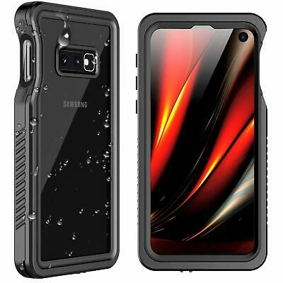 For Samsung Galaxy S10E Case Waterproof Shockproof Dirtproof Screen Protector