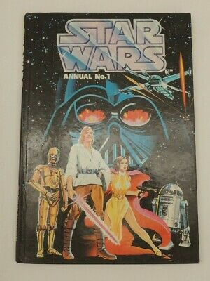 Star Wars Annual No 1 Brown Watson 1978 Hardback Thames hospice W 107A
