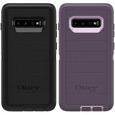 New! Otterbox Defender PRO Series For Samsung Galaxy S10 Plus S10 + Case & Clip