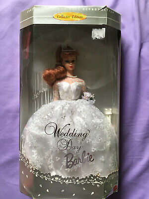Mattel Wedding Day Barbie Doll Collector Edition - 1961 Reproduction - Brand New