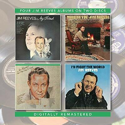 Jim Reeves - My Friend/Missing You/Am I That Easy To Forget/I'd Fight (2CD)  NEW