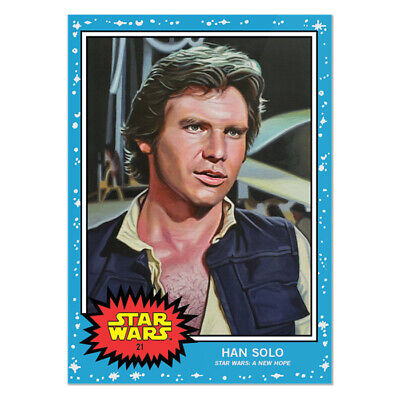 Topps Star Wars Living Set Card #21 - Han Solo (Pre-sale item)