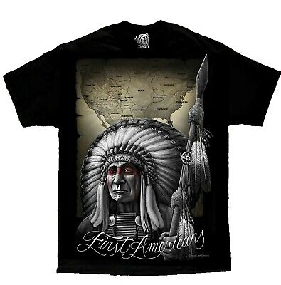 First Americans Native American Indian Chicano Art David Gonzales DGA T Shirt