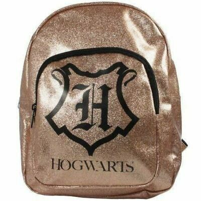 Harry Potter Backpack Rucksack Girls Roxy Bag School Sparkling Hogwarts Gift NEW