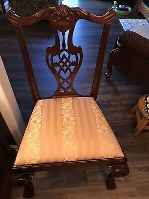 Mahogany Chippendale Dining Chairs