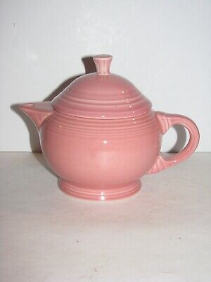 Fiestaware, 2 Cup Tea Pot w/ Lid, Rose, pink, Baby, My First Fiesta, NEW NO TAGS