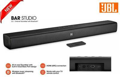 NEW JBL Bar Studio 2.0 Channel Soundbar with Bluetooth by Harman
