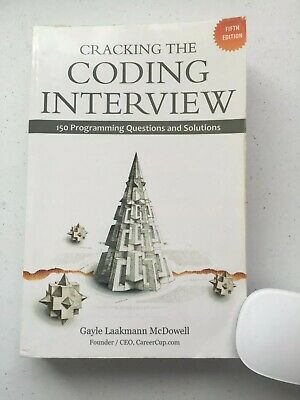 Cracking the Coding Interview, 5th Edition, paperback