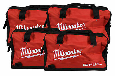 Milwaukee 16 inch Contractor Tool Bag 4 Pack. Durable, water-resistant design.