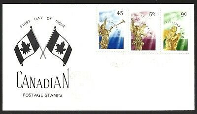 Canada  # 1764 - 1766  Combo   CHRISTMAS ANGELS  Special 1998 Unaddressed Cachet
