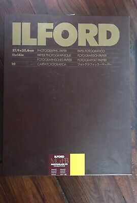 Ilford Multigrade Warmtone Photo Paper 11 X 14 10 Sheets