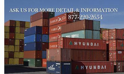 *Special* FL Shipping & Storage Container / 40'HC / Miami, FL
