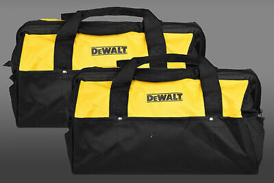Dewalt Heavy Duty Tool Bag for power tools 18inch Bag yellow and black 2 Pack