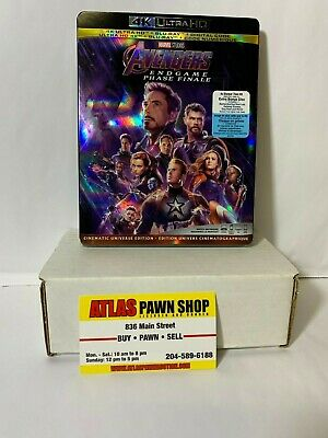 Avengers End Game - Blu-Ray or 4k
