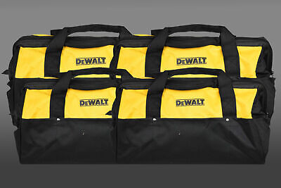 Dewalt Heavy Duty Tool Bag for power tools 18inch Bag yellow and black 4 Pack