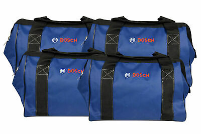Bosch CW01 15inch Contractor Tool Bag with durable handles and zipper 4 Pack