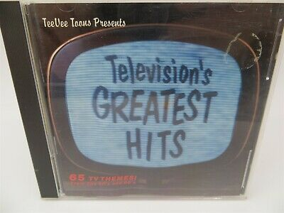 Television's Greatest Hits ♫ Themes From 65 TV Shows From the 50's and 60's ♫ CD
