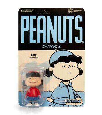 RE-PNUTW01-WLY-01: Super 7 Peanuts ReAction Figure - Winter Lucy