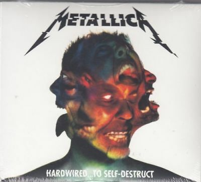 Metallica * Hardwired...To Self Destruct [Digipak] (CD, Nov-2016, 2 Discs) NEW