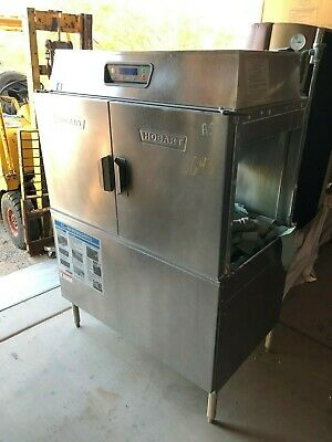 Hobart Commercial High Temperature Conveyor Dishwasher Model Cl44E