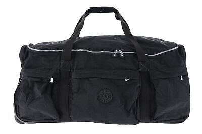 "Kipling 163430 Discover 30"" Rolling Black Duffle Bag Luggage"