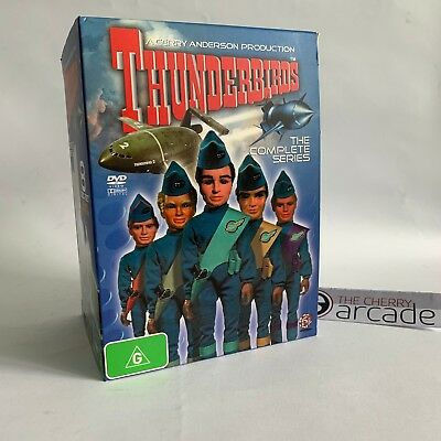 THUNDERBIRDS - The Complete Series - DVD Collection - Gerry Anderson