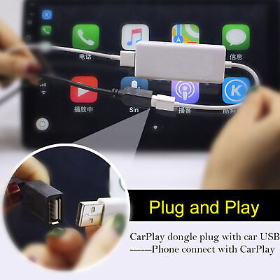Carplay USB Dongle For Apple iPhone Android Headunit Car Auto Navigation Player
