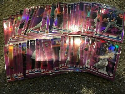 2019 Topps Chrome Pink Refractor Pick a Card Fill Your Set