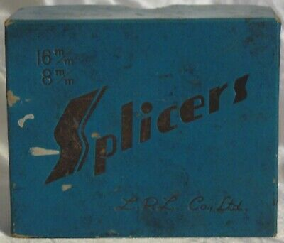 Vintage L. P. L. Co., Ltd. Splicers for 16mm / 8mm - Made in Japan