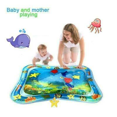 Mat Play Water Inflatable Baby Tummy Time Kids Infants Novelty Children Activity