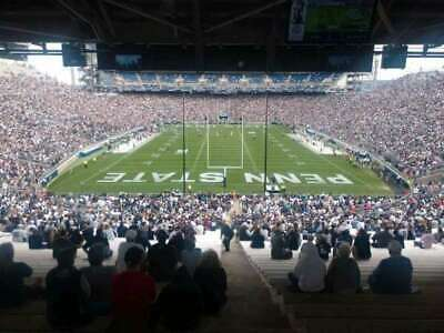 Penn State Vs Idaho - 3 Tickets Section NF, Row 60, UNDER COVER from SUN & RAIN
