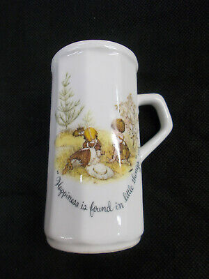Cute Porcelain Shaker With Handle - Happiness Is Found In Little Things # 416