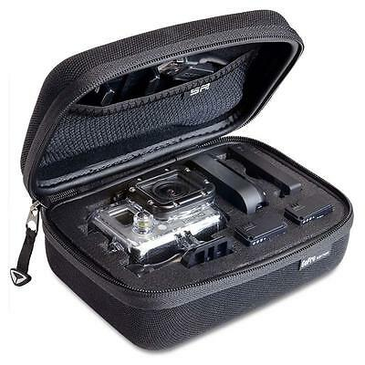 Small Travel Carry Case Bag for Go Pro GoPro Hero 1 2 3 3+ Camera, SJ4000 BE