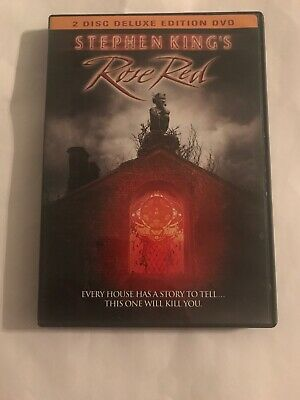 Stephen King's Rose Red DVD, 2 Disc Deluxe Edition, 2001 RARE OOP Nancy Travis