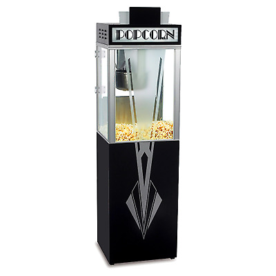 Superpop Art Deco 6oz Popcorn Machine With Base