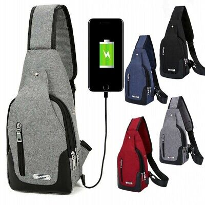 Men Women Anti-theft Shoulder Chest Small Light Travel Bag Waterproof Backpack
