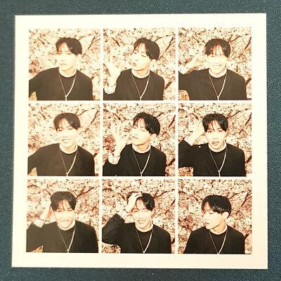 J Hope - Official Photocard BTS In The Mood for Love 3rd Album Kpop