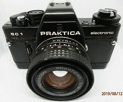 Praktica BC1 Electronic . Pentacon 35mm film  camera Made in Germany