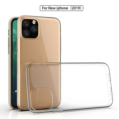 For 2019 New iPhone 11 5.8 6.5 6.1 Clear Shockproof Case Bumper Cover