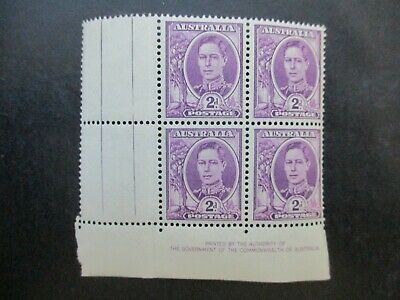 Australian Pre Decimal Stamps: Block (MINT) - Excellent Item, Must Have (T2702)