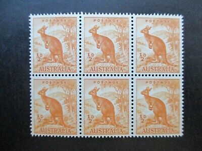Australian Pre Decimal Stamps: Block (MINT) - Excellent Item, Must Have (T2736)