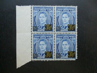 Australian Pre Decimal Stamps: Block (MINT) - Excellent Item, Must Have (T2735)