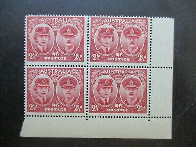 Australian Pre Decimal Stamps: Block (MINT) - Excellent Item, Must Have (T2738)
