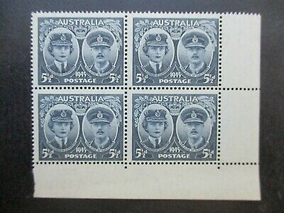 Australian Pre Decimal Stamps: Block (MINT) - Excellent Item, Must Have (T2737)