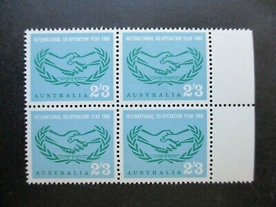 Australian Pre Decimal Stamps: Block (MINT) - Excellent Item, Must Have (T2739)
