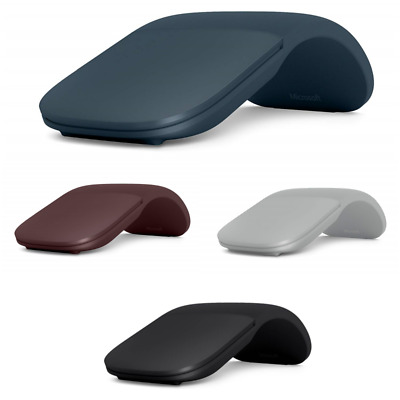 Microsoft Arc Bluetooth Mouse - Black, Burgundy, Blue, Platinum