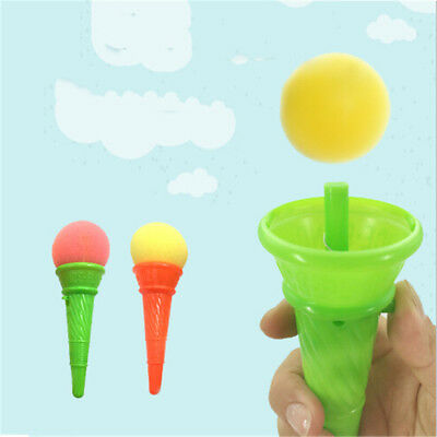Sponge Ice Cream Ejection Launch Ball Kids Outdoor Game Gun Decompression Toy