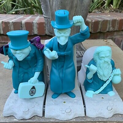 Haunted Mansion Hitchhiking Ghost Popcorn Bucket Treat Sipper 50th Anniversary