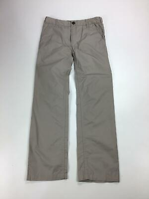 Boys Burberry Stone Smart Casual Straight Leg Chino Trousers Kids Age 10 Years